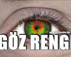 Gözlerinizin Rengi Duygularınıza Bağlı Olarak Değişebilir