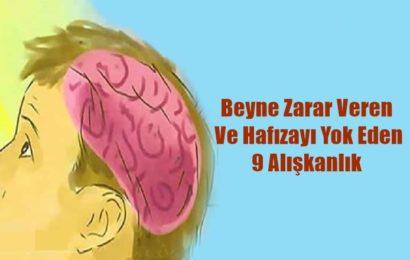 Beyne Zarar Veren Ve Hafızayı Yok Eden 9 Alışkanlık