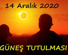 14 Aralık 2020 Güneş Tutulmasında Yapılması ve Yapılmaması Gerekenler