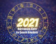 Burcunuza Göre 2021'de En Şanslı Gününüz