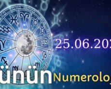 25 Haziran 2021 Günün Numerolojisi Ve Enerjisi: İyi Şans Çeken Şeyler