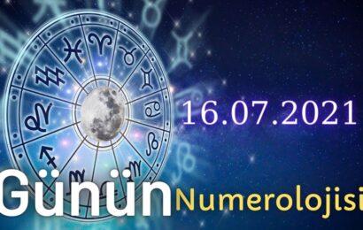 16 Temmuz 2021 Günün Numerolojisi Ve Enerjisi: İyi Şans Çeken Şeyler