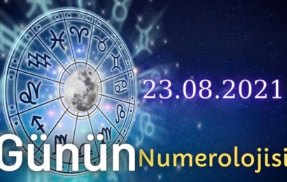 23 Ağustos 2021 Günün Numerolojisi Ve Enerjisi: İyi Şans Çeken Şeyler