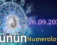 26 Eylül 2021 Günün Numerolojisi Ve Enerjisi: İyi Şans Çeken Şeyler