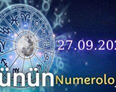27 Eylül 2021 Günün Numerolojisi Ve Enerjisi: İyi Şans Çeken Şeyler